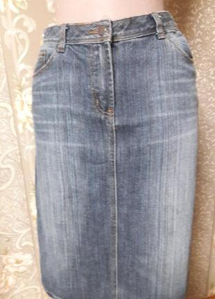 Джинсовая юбка e-vie