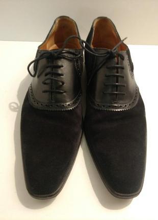 Туфли patrick hellmann 43 ручной работы.
