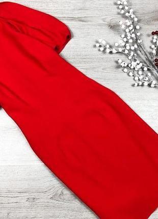 Невероятное короткое платье с рукавами фонарики zara