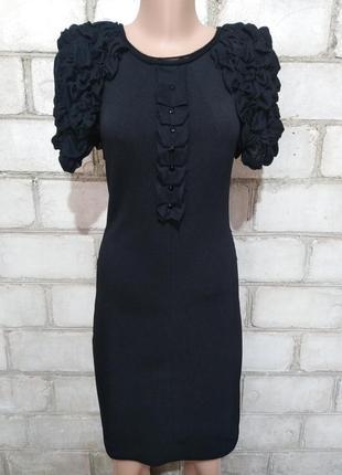 Корсетное маленькое черное  платье