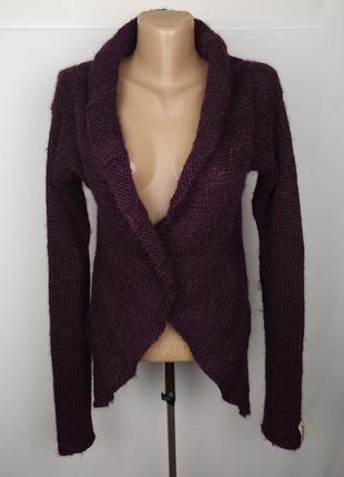 Кофта свитер вязаная шерстяная оригинальная diesel uk 14/42/l