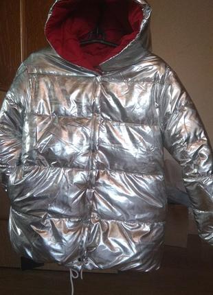 Курточка двухсторонняя зима