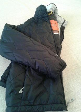 Зимняя горнолыжная куртка с подогревом пуховик