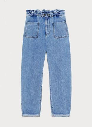 Трендовые джинсы из новой коллекции zara