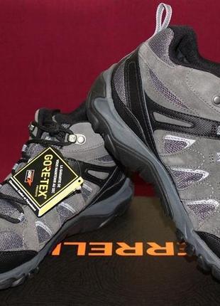 Треккинговые ботинки merrell outmost mid vent goretex оригинал 41-46