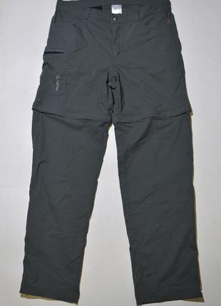 Треккинговые штаны, трансформеры loffler mens trekking zip-off pants
