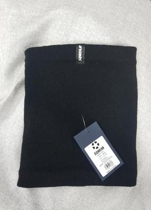Мужской баф,чёрный, на флисе,фабричный пошив,шарф,бафф,унисекс3 фото