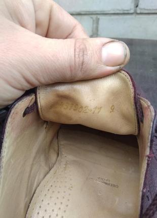 Туфли мужские  дерби sioux р.93 фото