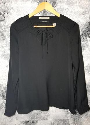 Чорна блузка maison scotch