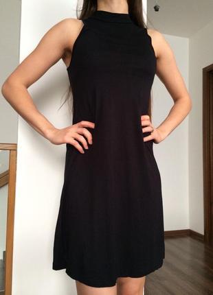 Платье туника свободного кроя