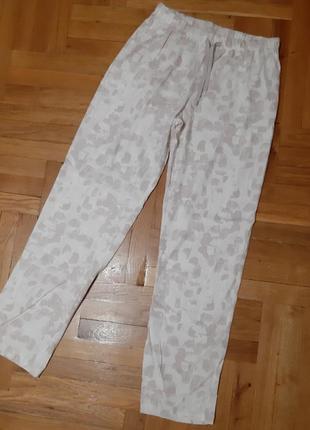Трикотажные пижамные штаники.s-m,m-l.esmara