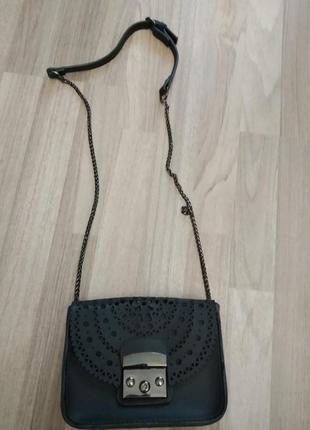 Ажурная сумка клатч