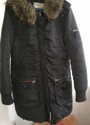 Женская зимняя парка only | куртка пуховик пальто в стиле pull & bear