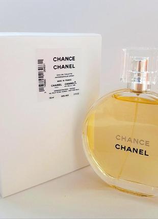 Chanel chance туалетная вода - оригинал