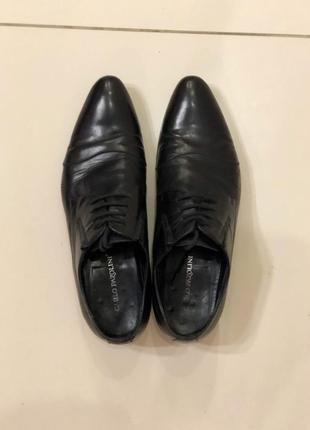 Туфли кожаные carlo pazolini