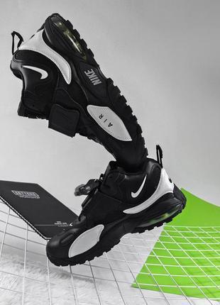 Nike Air Max Speed Turf Winter Fur Black White (мех