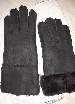 Перчатки натуральные ugg