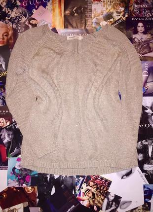 Пуловер женский с люрексом reserved