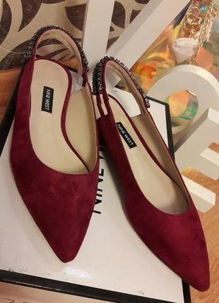 Туфли замшевые nine west2 фото