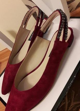 Туфли замшевые nine west8 фото