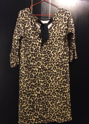 Платье тигровый тренд