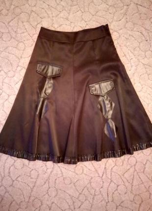 Красивая юбка с завышенной талией/44-46 размер