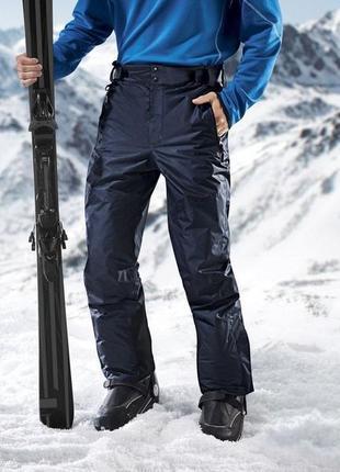 Функциональные мужские лыжные штаны crivit, размер евро 52.