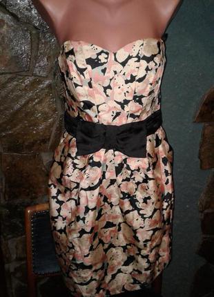 Платье бюстье .