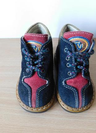 Ботинки saimon 18 р. стелька 11 см. италия.