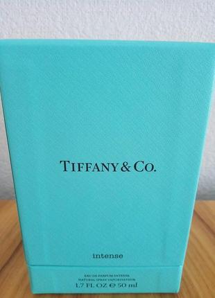 Женская парфюмированная вода tiffany & co. intense
