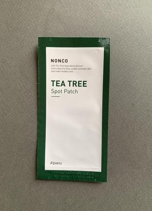 Патчи с маслом чайного дерева a´pieu nonco tea tree spot patch