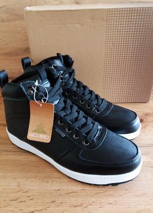 Оригинальные кожаные зимние ботинки willard