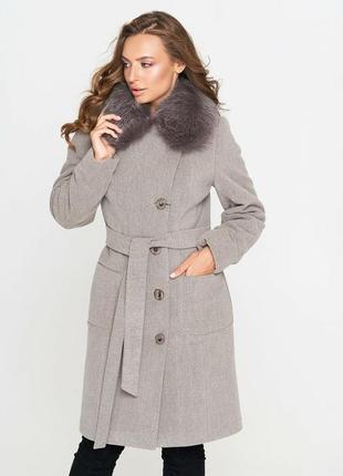 Пальто зимнее, шерстяное belanti + берет в подарок!