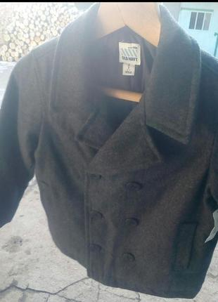 Кашемировое пальто на мальчика old navy 7-8 лет