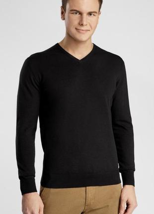 Пуловер шерстяной мужской стильный модный дорогой бренд uniqlo размер м