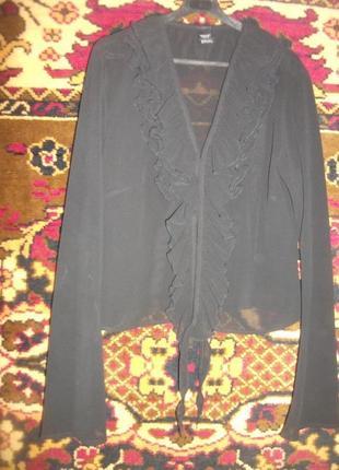 Шифоновая прозрачная блузка sprit