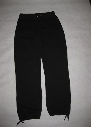 158-160 рост, спортивные штаны на баечке, чёрные