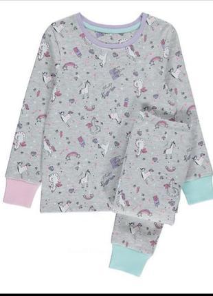 Пижама для девочки george код. 191201