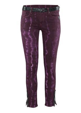Фиолетовые джинсы h&m, 36