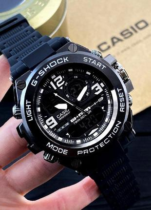 Чоловічий годинник casio g-shock glg-1000 black-white