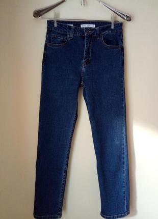 Очень мягкие, укороченные джинсы мом