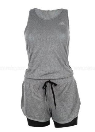 Женский легкоатлетический комбинезон ромпер adidas cool jumpsuit