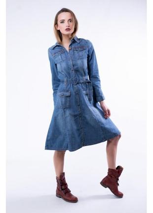 Джинсовое платье mustang