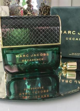 Decadence marc jacobs _original_eau de parfum 10 мл_затест парфюм.вода
