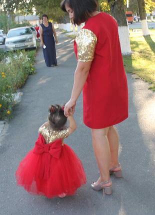 Плаття на 1 рік для дівчинки
