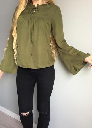 Diffuse _легка шифонова блуза в стилі бохо