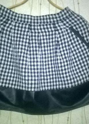 Клетчатая юбка miss selfridge
