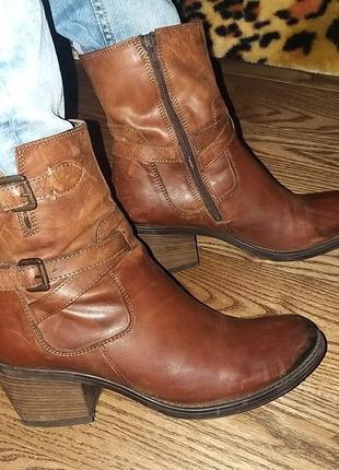 Распродажа! кожаные ботинки 40-41 р (7)