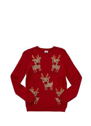 Светящийся новогодний свитер