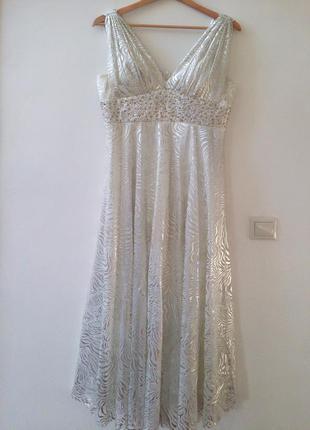 Фирменное вечернее платье alchera